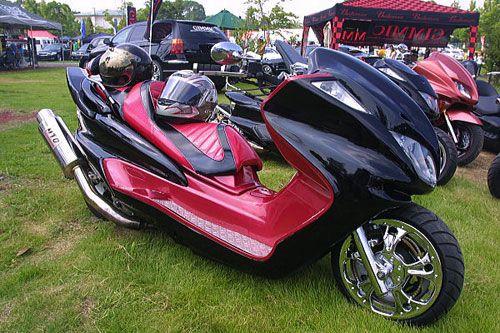 Tuning sur scooter 125cm et plus