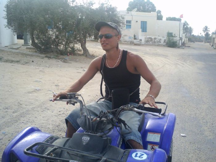 quad en tunisie!!!