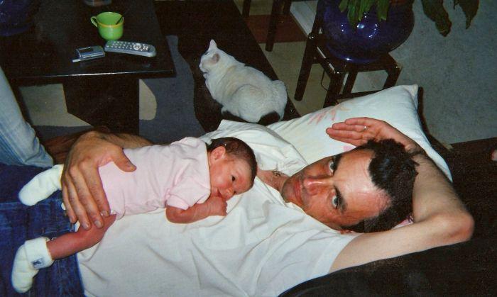 (L) Papa &Océane