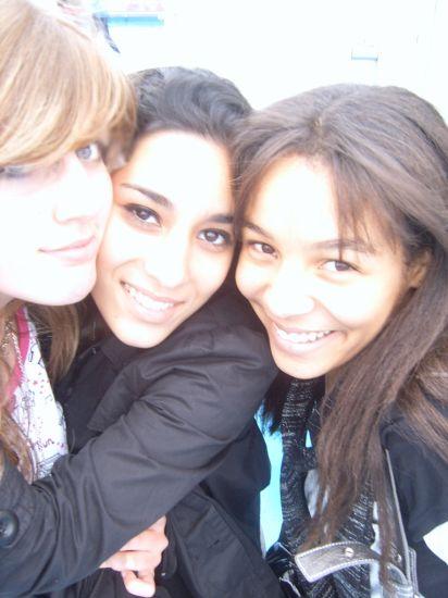 Raphie, Sarra (L) & Me