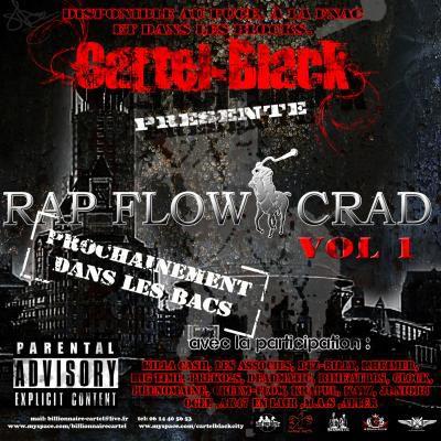 afiche de la mixtape( Rap Flow Crad) b1to dans les bacs