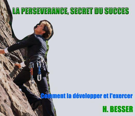 la perseverance est une porte ouverte vers le succes