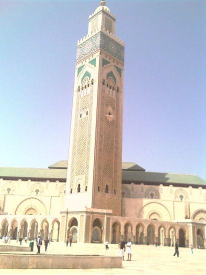 la mosquée de casablanca 2 eme plus grande mosquée du monde