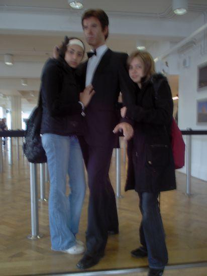 Moi & Hanane ( Londres juin 2007 )