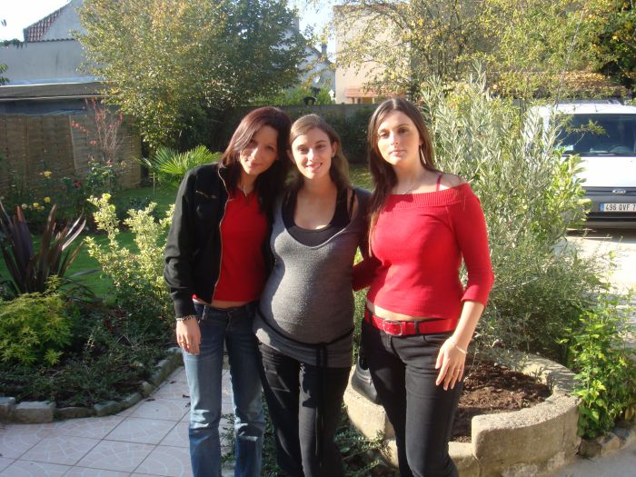 Moi, ma cous anabela , ma cous miki ds le 95 chez ana!!