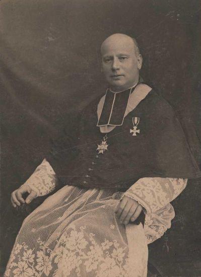 Alphonse HUBER (Chanoîne de Saverne début 1900)