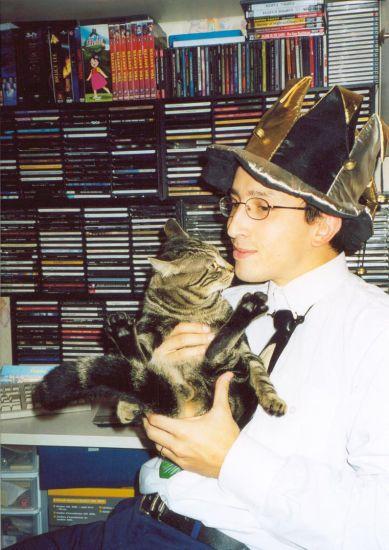 Avec Billy Halloween 2003