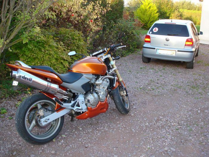 ma moto 600 hornet 2005