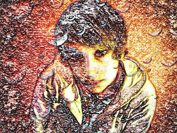 Spaß-Aus meiner Serie-Digitale Fotokunst-POP