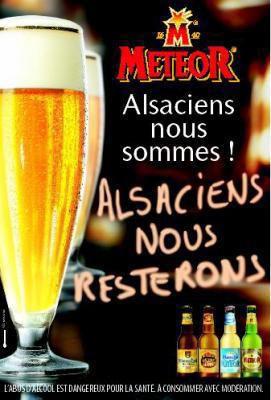 Alsacienne et fière ( ps : vive la Bière )