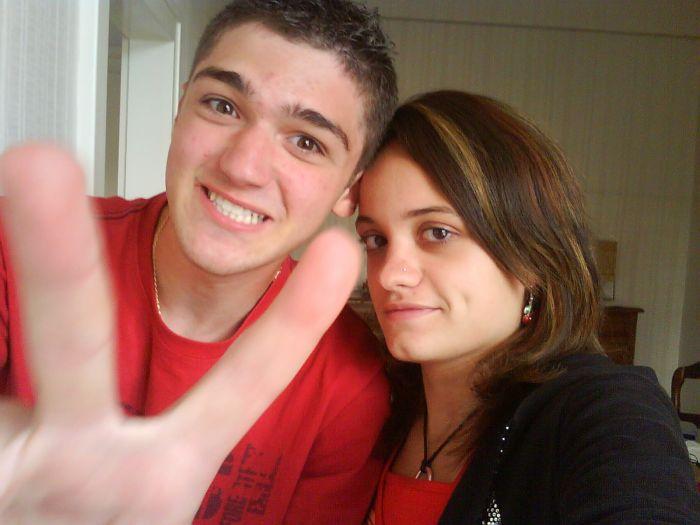 Nico, moi et ... les doigts baladeurs à Nico xD