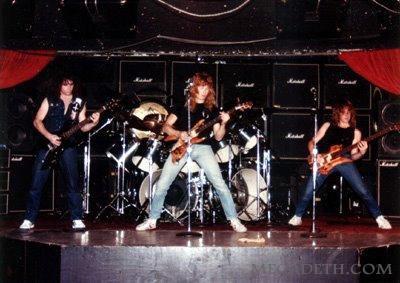 Megadeth first show