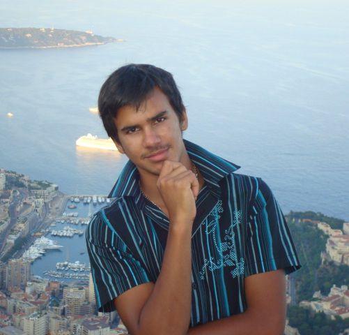 moi à Monaco