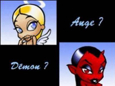 moi je suis l ange toi d koi l ange come moi ou le diable