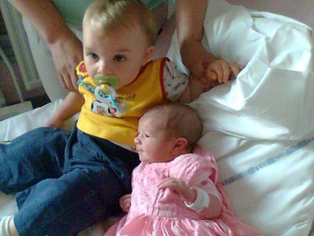 Kélian ey Maélyse  l'oncle et la tante