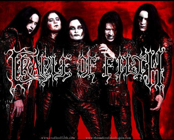Cradle Of Filth (des pures SATA)