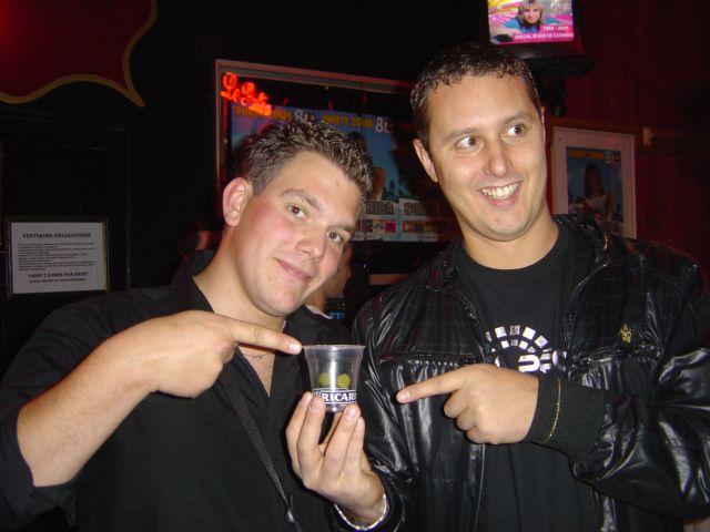 avec Greg B (et le gobelet Ricard xD)