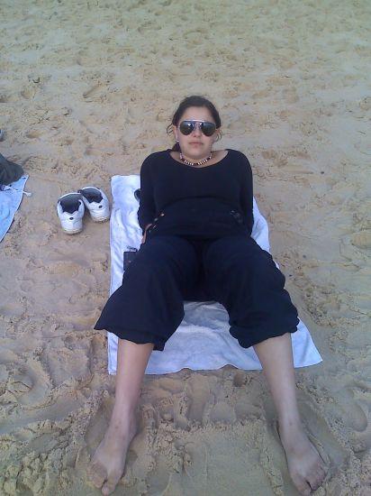 Moi a la plage avk ma best !!!!