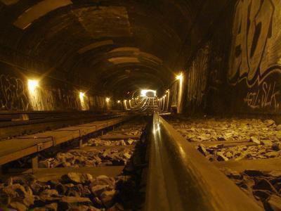 tunnel métro