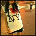 t-schirt I love NY      NY = New York