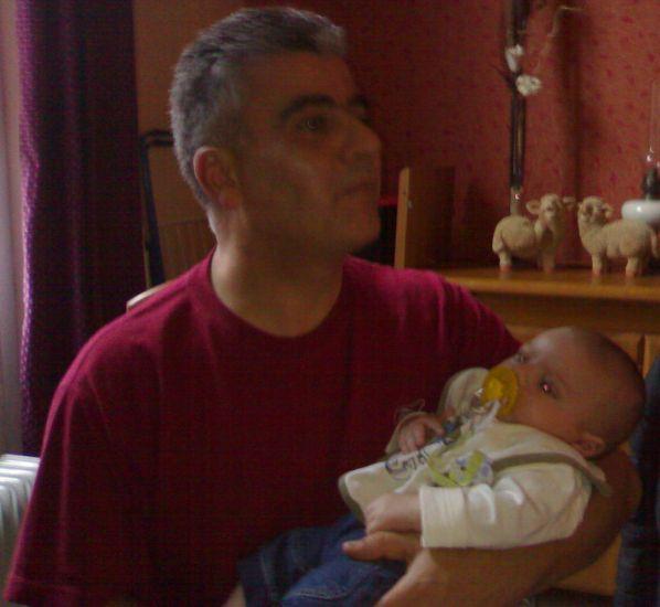 ethan et son papy