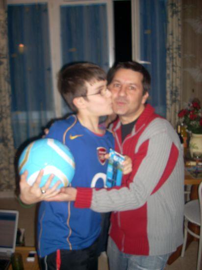 mon poteau et mon fils son filleuil