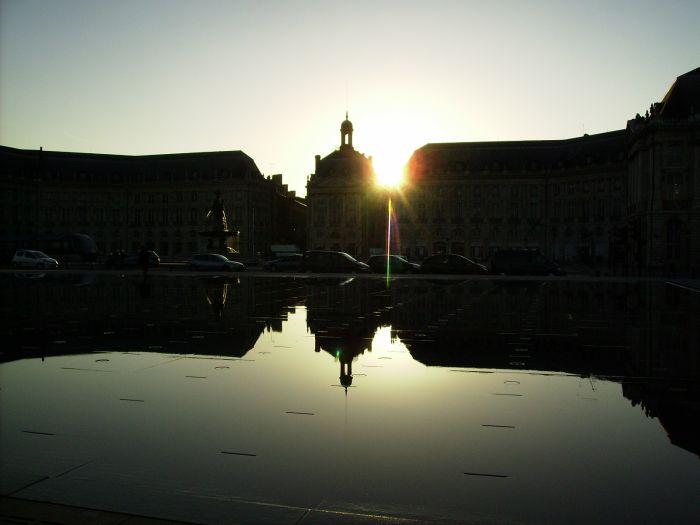 Miroir d'eau de Bordeaux !