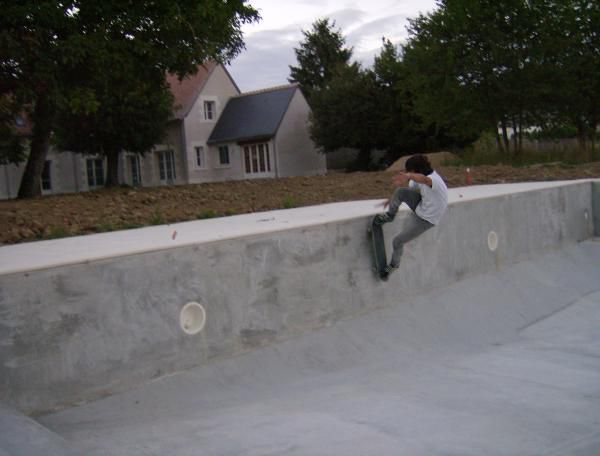 Wall-ride to Fackie