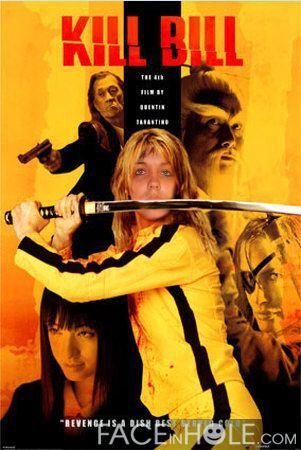 ma femme en mode kill bill