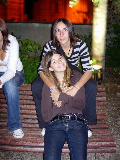 De bas en haut: Katia et moi.