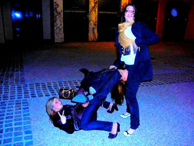 Celia , Moi && Mandy   ..  Ya lonteeeeeeeeeem