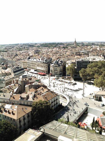 Montpellier à la comedie