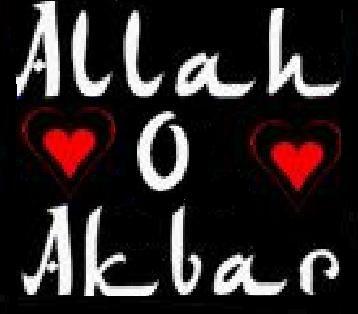 Allah o Akbar!