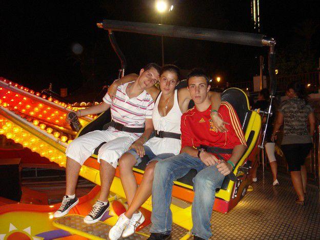MALAGA ( Cédric, Moi et Julien )