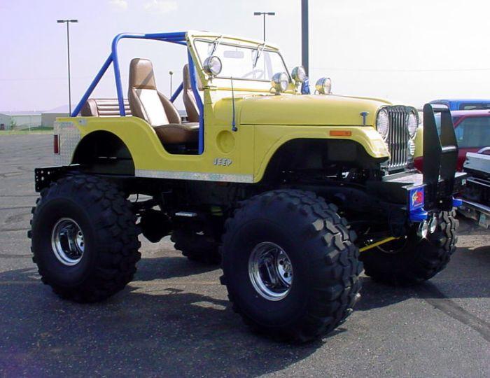 mon amour pour la jeep