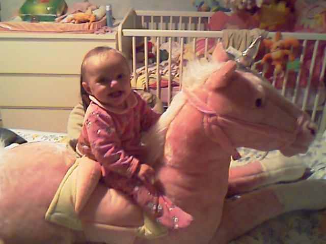 ma fille et sa licorne