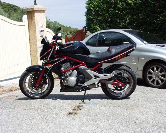 ma moto toute equipée