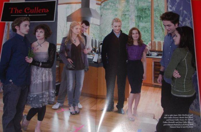 - Les Cullen ( Tome 4, Bella se marie avec Edward) -