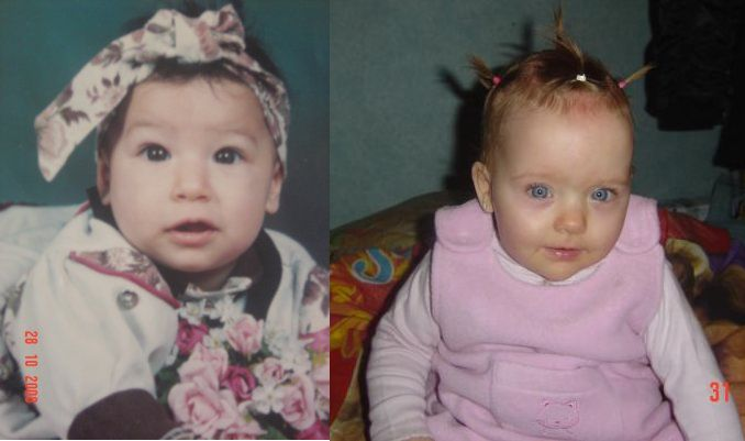 Mes 2 filles bb