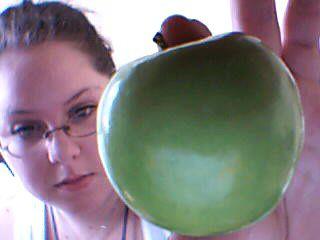 j'adore les pommes.....<3