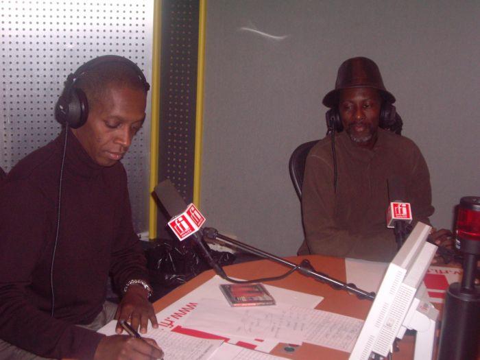 Saintrick & Claudy Siar, à Couleurs Tropicales RFI