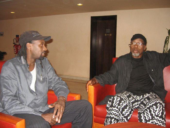 Saintrick & Souleymane Coly à l'émission Star Parade
