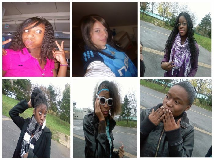 Cooralie . Moi . Glwadys . Audreey . Mélaaine . Mariaanne <3
