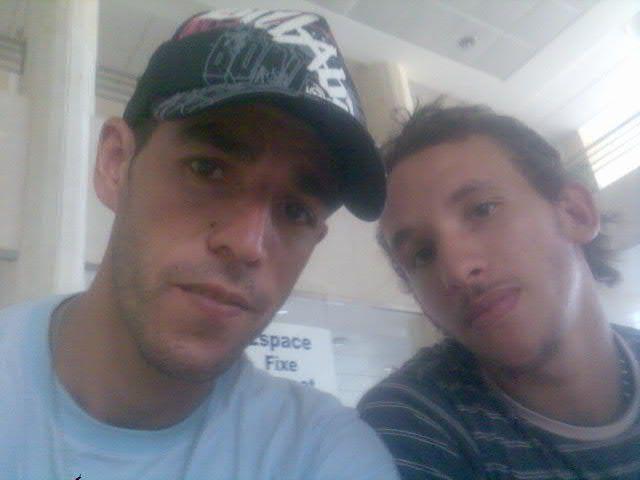 Moi et Youness mon Kouz