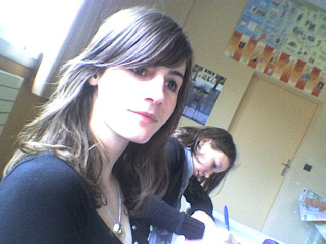 moi et ma femme derrière xd