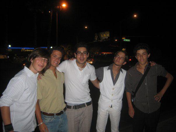 Moi-Tim-Joakim-Vladimir-Uriel a Beverly Hills