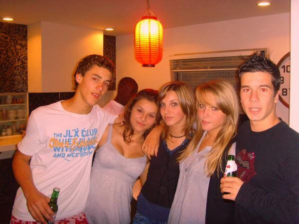 Corentin,Léna,Hélene,Charlotte et moi !