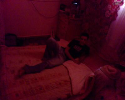 ma chambre rouge
