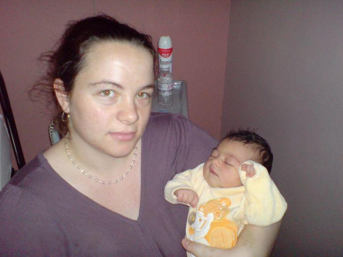 la naissance de ma fille y a 6mois