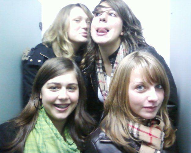 Maïlys , Pauline , Laura & Moi (L `